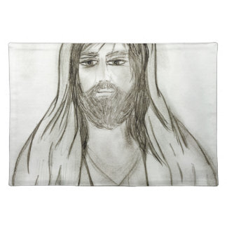 A Robed Jesus Placemat