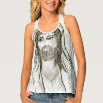 A Robed Jesus Tank Top