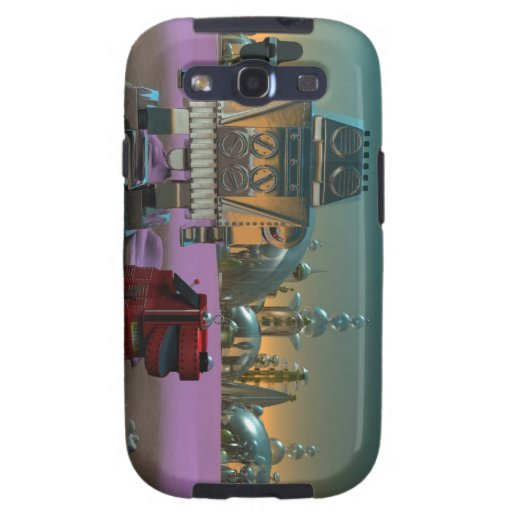 A Robot and His Dog Galaxy S3 Covers