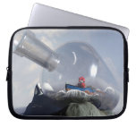 A Robot in a Bottle Electronics Bag Laptop Sleeve