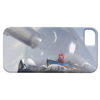 A Robot in a Bottle Horizontal iPhone SE/5/5s Case