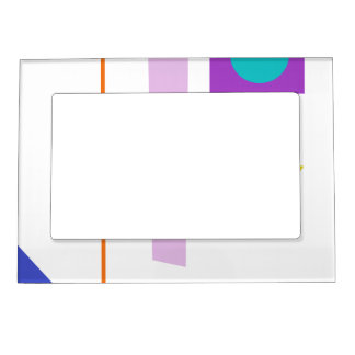A Robot's Smile Magnetic Photo Frame
