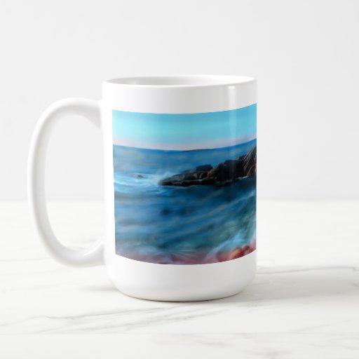 A rocky Coast Gallery Coffee Mug