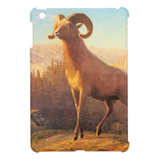 A Rocky Mountain Sheep by A. Bierstadt iPad Mini Cover