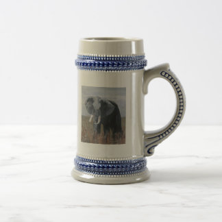 """A Rogue Elephant"" Beer Stein 18 Oz Beer Stein"