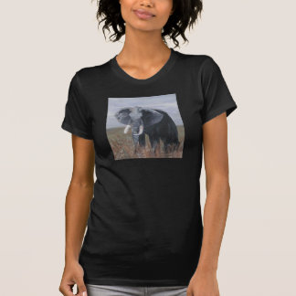 """A Rogue Elephant"" Ladies Twofer Sheer T-Shirt"