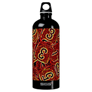 A Roll of the Dice Bold Design Water Bottle