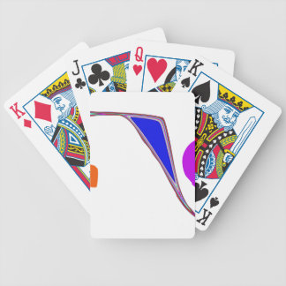 A Roller Coaster Bicycle Playing Cards