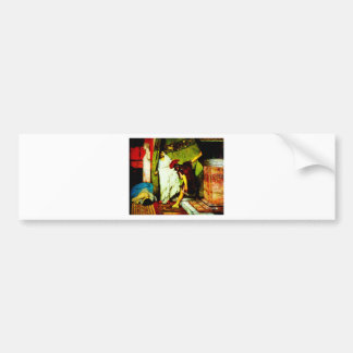 a roman emperor  by Sir Lawrence Alma Tadema Bumper Sticker