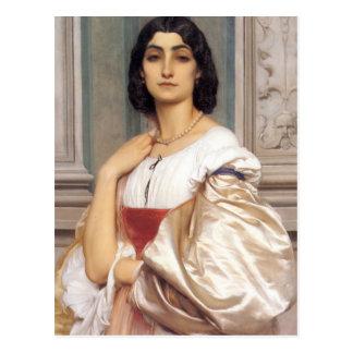 A roman Lady art Post Card