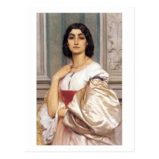 A Roman Lady - Lord Frederick Leighton Postcard