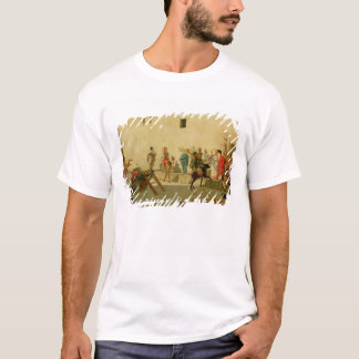 A Roman Street Scene with Musicians and a Performi T-Shirt