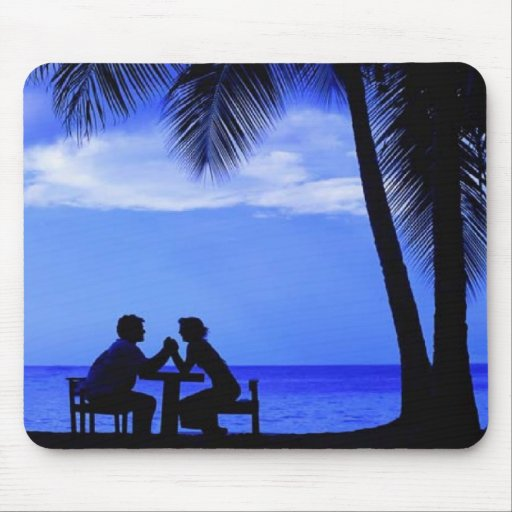 A Romantic Evening Mouse Pad