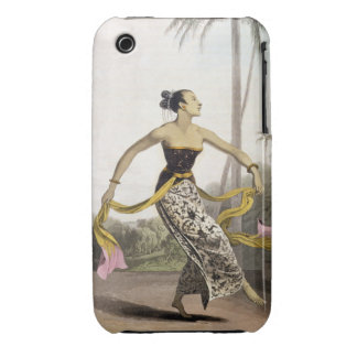 A Ronggeng or Dancing Girl plate 21 from Vol I o iPhone 3 Case-Mate Cases