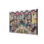 A Room in the House of Mr. Kong, a Peking Merchant Canvas Print