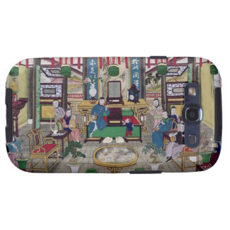 A Room in the House of Mr. Kong, a Peking Merchant Galaxy SIII Covers