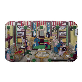 A Room in the House of Mr. Kong, a Peking Merchant Case-Mate iPhone 3 Case