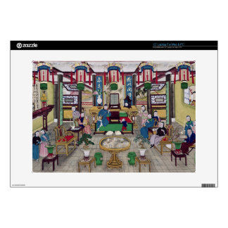 A Room in the House of Mr. Kong, a Peking Merchant Decals For Laptops