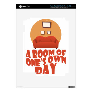 A Room Of One's Own Day - Appreciation Day iPad 3 Decal