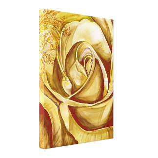 A Rose 4 Stretched Canvas Prints