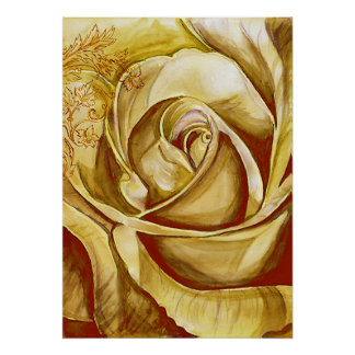 A Rose 4 Posters