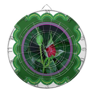 A rose bud for you my love Flower Floral 100 gifts Dart Board