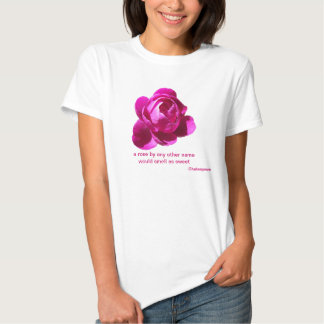 A ROSE BY ANY NAME: 3D ROSE T-Shirt