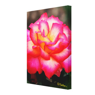 A Rose By Any Other Name Canvas Wrapped Art