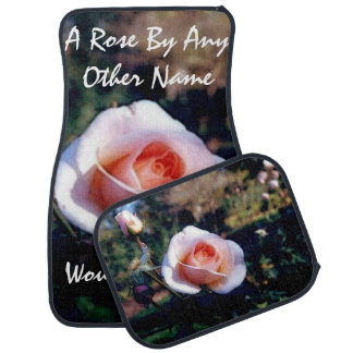 A Rose By Any Other Name Car Mat