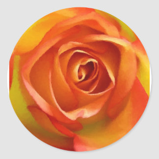 A Rose by any other name Classic Round Sticker