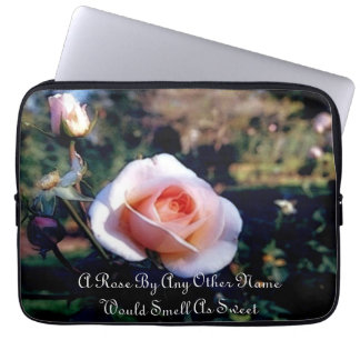 A Rose By Any Other Name Laptop Sleeve