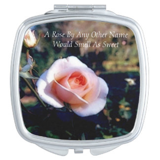 A Rose By Any Other Name Makeup Mirror
