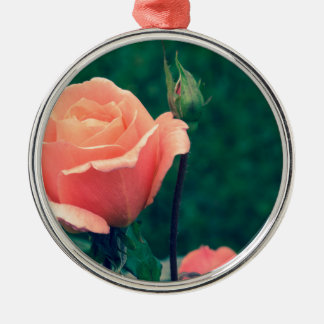 A Rose by Any Other Name Metal Ornament