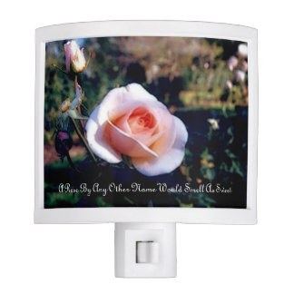 A Rose By Any Other Name Night Light