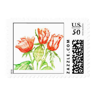 A Rose, By Any Other Name Postage