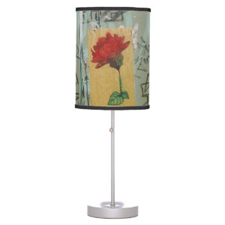 A Rose by Any Other Name Table Lamp