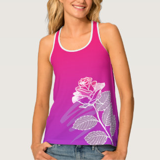 A rose by any other name. tank top