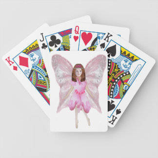 A Rose Fairy Bicycle Playing Cards