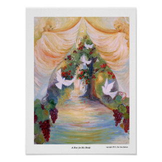 A Rose for His Bride by Sue Ann Jackson Poster