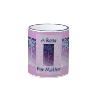 A Rose For Mother Ringer Mug