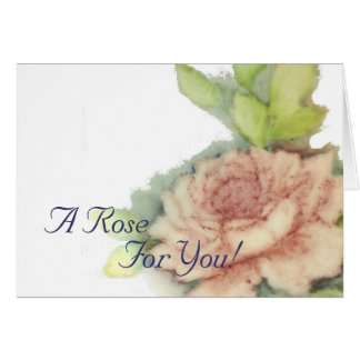 A Rose For You!-Customize Card