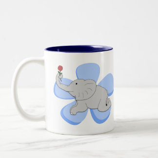 A Rose from a Baby Elephant Mug