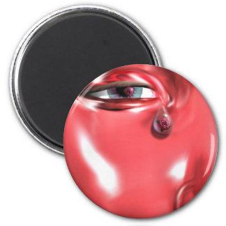 A Rose In A Single Tear Magnet
