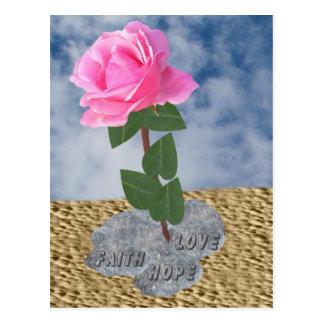 A Rose in The Desert Postcard