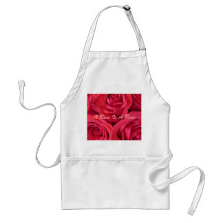 A Rose Is A Rose Adult Apron