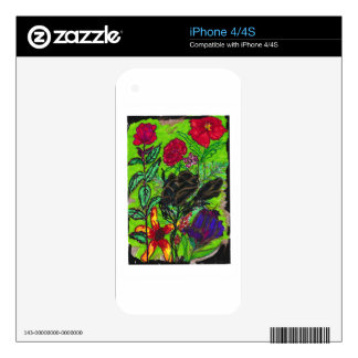 """""""A Rose is a Rose"""" iPhone 4/4S Skin For The iPhone 4"""