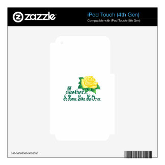 A Rose Like No Other Decal For iPod Touch 4G