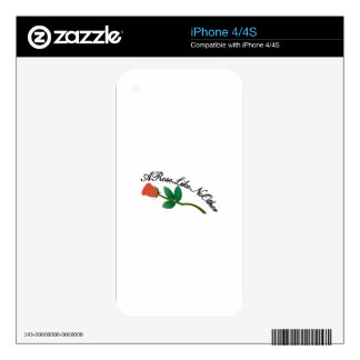 A Rose Like No Other Skin For The iPhone 4S