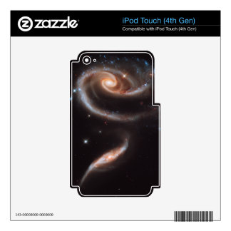 A rose made of galaxies skin for iPod touch 4G