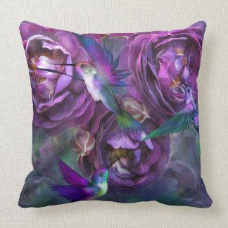 A Rose Named Violette Art Decorator Pillow